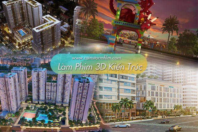 làm phim 3D kiến trúc