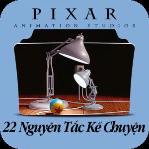 22 qui tắc kể chuyện của PIXAR