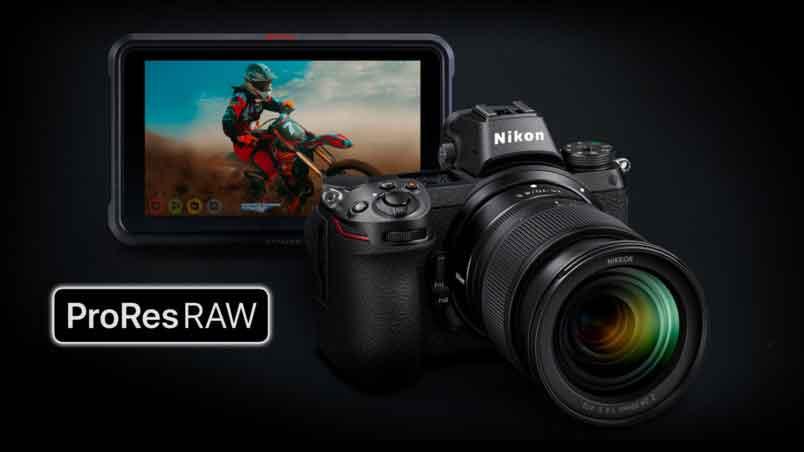 ATOMOS NINJA Record RAW Apple Prores Cho Máy Ảnh Nikon Z6 và